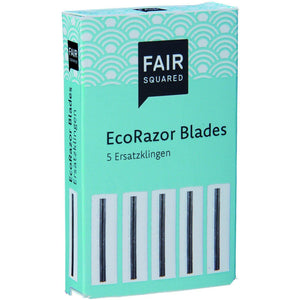 Fair Squared Zero Waste ECO Razor Blades (5)-Just Beauty Organics Store