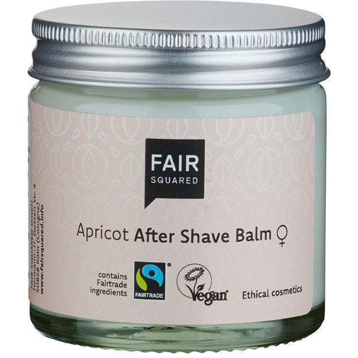 Fair Squared Zero Waste Organic Apricot After Shave Balm 50ml-Just Beauty Organics Store