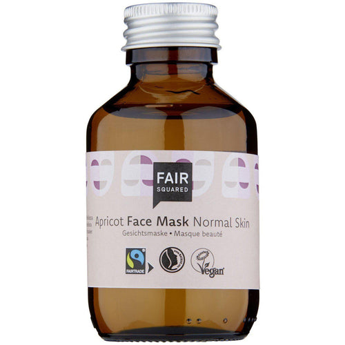 Fair Squared Zero Waste Organic Apricot Facial Mask Fluid Normal Skin 100ml-Just Beauty Organics Store
