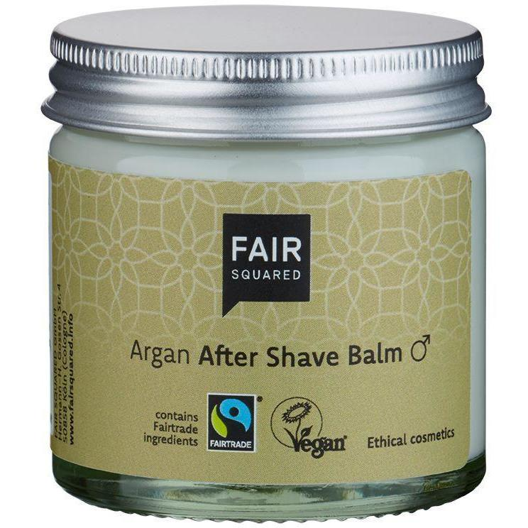Fair Squared Zero Waste Organic Argan After Shave Balm 50ml-Just Beauty Organics Store