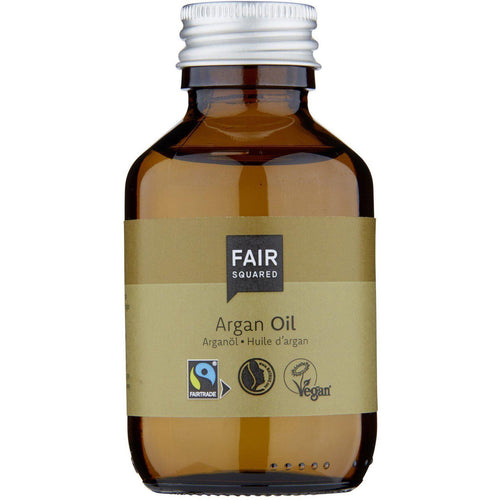 Fair Squared Zero Waste Organic Argan Facial Mask Fluid Dry Skin 100ml-Just Beauty Organics Store