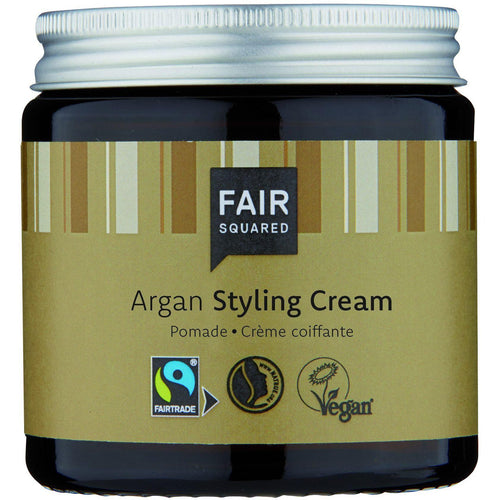 Fair Squared Zero Waste Organic Argan Hair Styling Cream 100ml-Just Beauty Organics Store