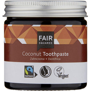 Fair Squared Zero Waste Organic Coconut Toothpaste 50ml-Just Beauty Organics Store