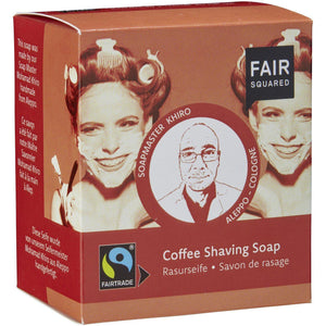 Fair Squared Zero Waste Organic Coffee Shaving Soap 2 x 80g-Just Beauty Organics Store