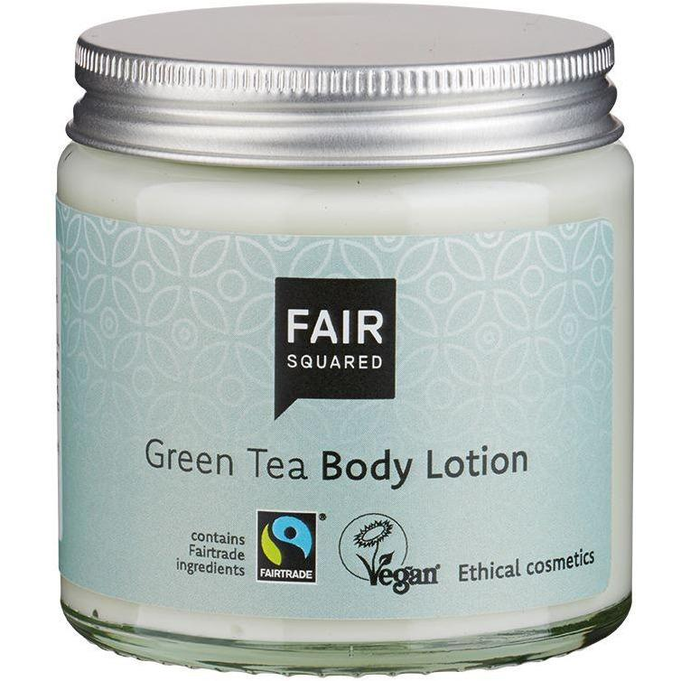 Fair Squared Zero Waste Organic Green Tea Body Lotion 100ml-Just Beauty Organics Store