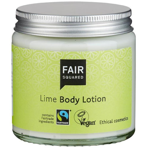 Fair Squared Zero Waste Organic Lime Body Lotion 100ml-Just Beauty Organics Store