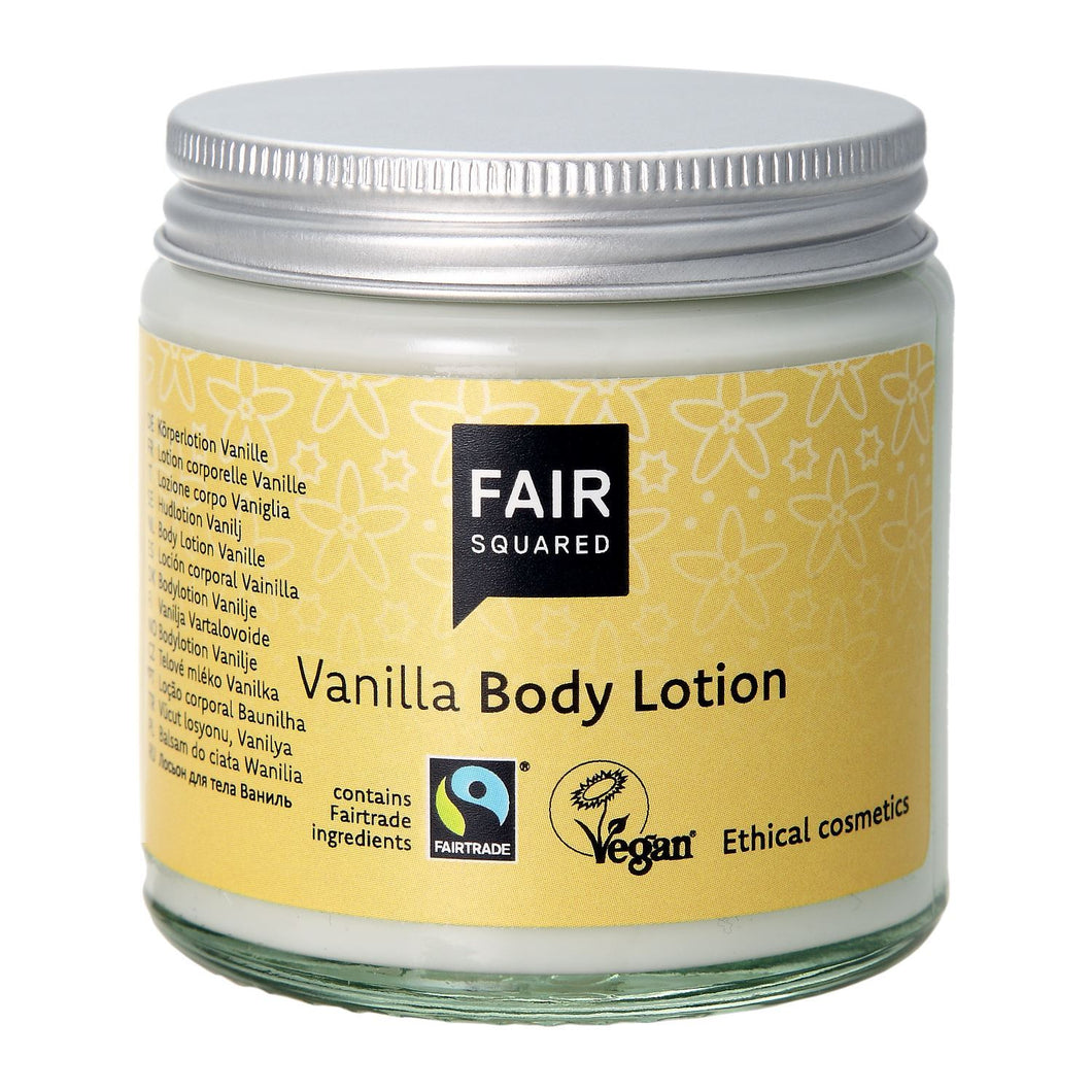 Fair Squared Zero Waste Organic Vanilla Body Lotion 100ml-Just Beauty Organics Store