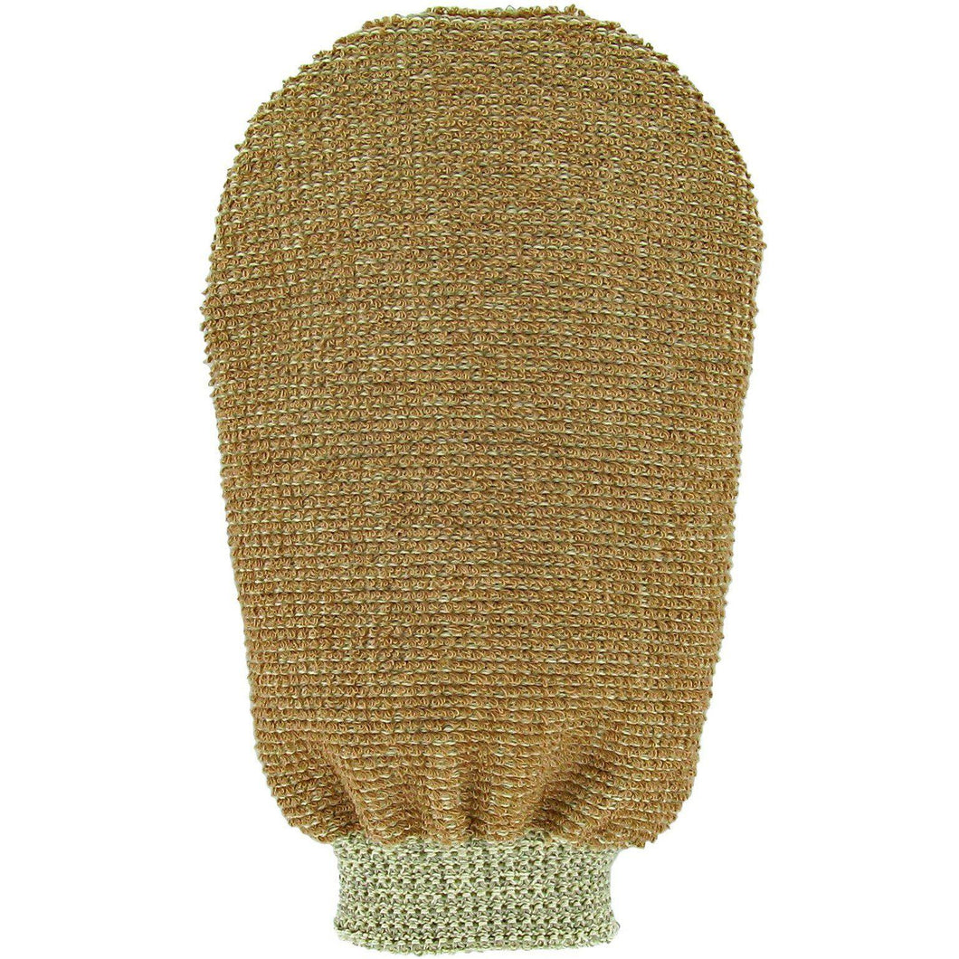 Forsters Massage glove double-sided certified organic linen & cotton-Just Beauty Organics Store
