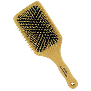 Forsters Paddle brush with pointed wooden pins, beech wood-Just Beauty Organics Store