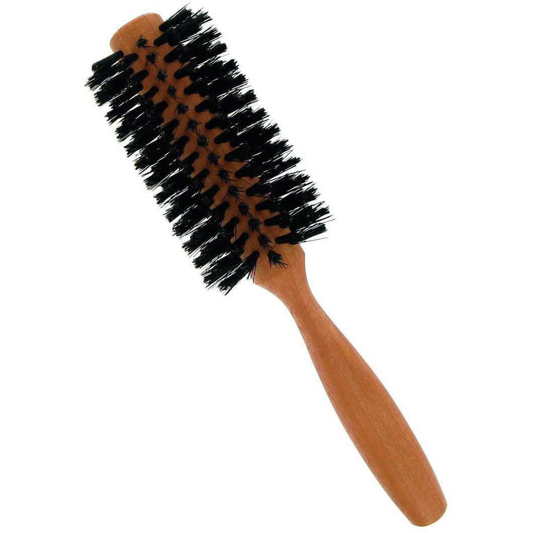 Forsters Round brush, boar bristles, peartree-Just Beauty Organics Store