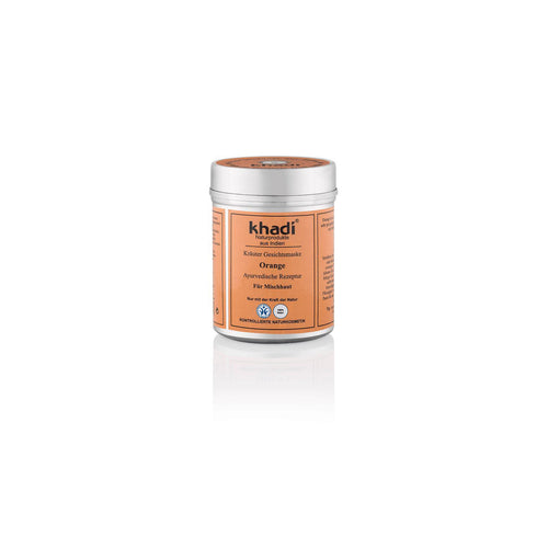 Khadi Organic Ayurvedic Face Mask Orange for Combination Skin 50g-Just Beauty Organics Store