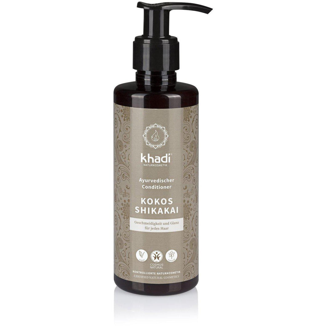 Khadi Organic Herbal Shikakai Conditioner 200ml-Just Beauty Organics Store