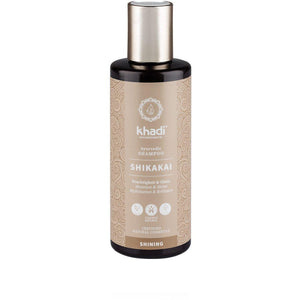 Khadi Organic Herbal Shikakai Shampoo - All Hair 200ml-Just Beauty Organics Store