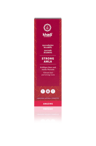 Khadi Organic Strong Amla Oil 50ml-Just Beauty Organics Store