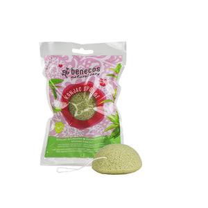 Konjac Sponge - Green Tea-Just Beauty Organics Store