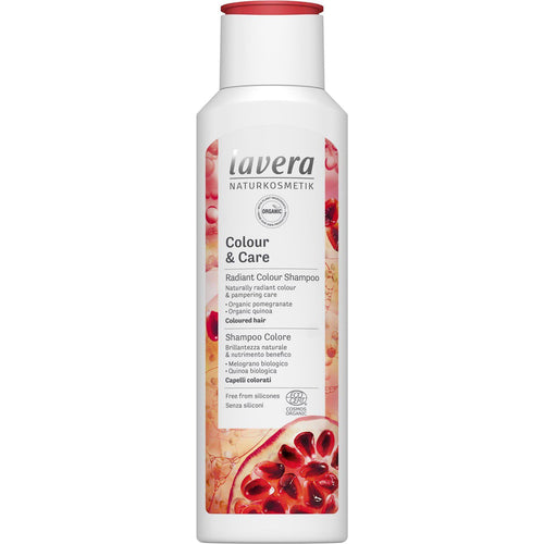 Lavera Colour & Care Shampoo with Organic Pomegranate and Organic Quinoa 250ml-Just Beauty Organics Store