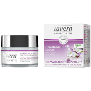 Lavera Firming Night Cream 50ml - Organic Shea Butter & Karanja-Just Beauty Organics Store
