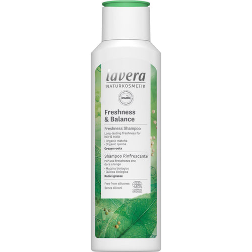 Lavera Freshness & Balance Shampoo with organic Matcha and Organic Quinoa 250ml-Just Beauty Organics Store