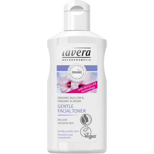 Lavera Gentle Facial Toner 125ml - Organic Malva & Almond-Just Beauty Organics Store