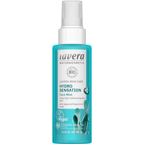 Lavera Hydro Sensation Face Mist 100ml - Organic Algae & Hyaluronic Acid-Just Beauty Organics Store
