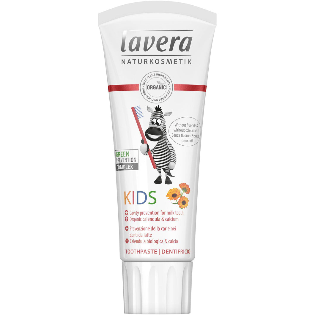 Lavera Kids Toothpaste (fluoride free) 75ml - Organic Extracts-Just Beauty Organics Store