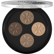 Load image into Gallery viewer, Lavera Mineral Eyeshadow Quattro 4x 0.8g-Cappuccino Cream 02-Just Beauty Organics Store