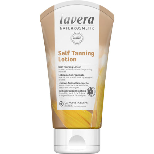 Lavera Self Tanning Body Lotion with Organic Oils 150ml-Just Beauty Organics Store