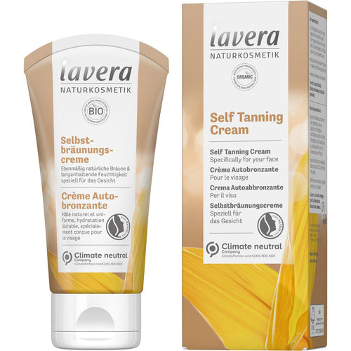 Lavera Self Tanning Face Cream with Organic Oils 50ml-Just Beauty Organics Store