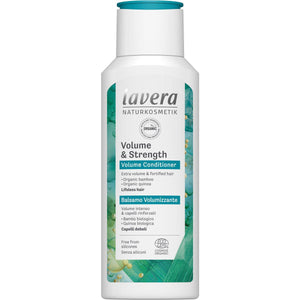 Lavera Volume & Strength Conditioner with Organic Bamboo and Organic Quinoa 200ml-Just Beauty Organics Store