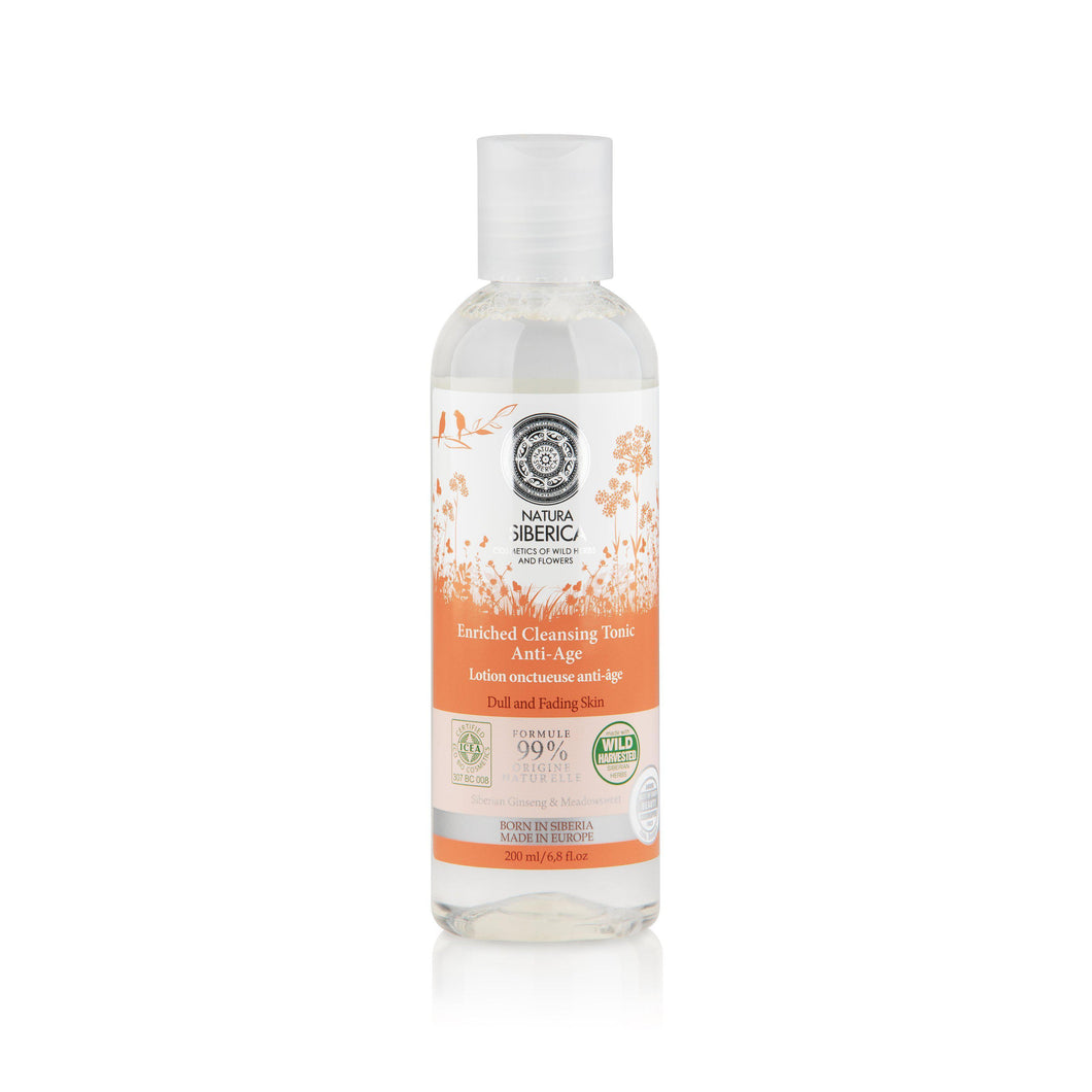 Natura Siberica Organic Anti Ageing Cleansing Tonic 200ml-Just Beauty Organics Store