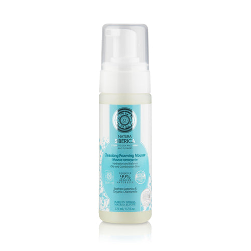 Natura Siberica Organic Cleansing Foam Mousse 170ml-Just Beauty Organics Store