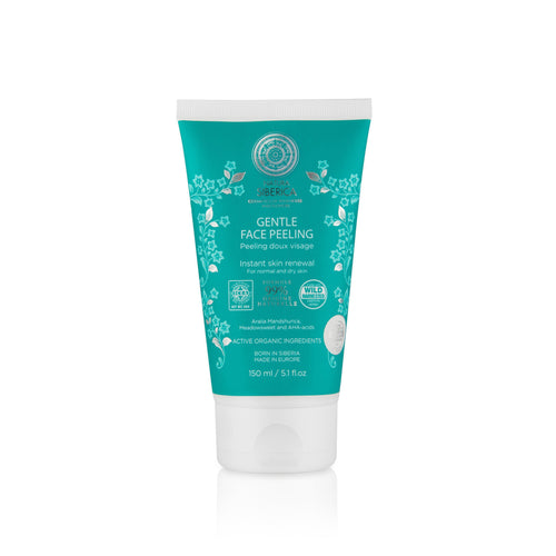 Natura Siberica Organic Gentle Face Peeling 150ml-Just Beauty Organics Store