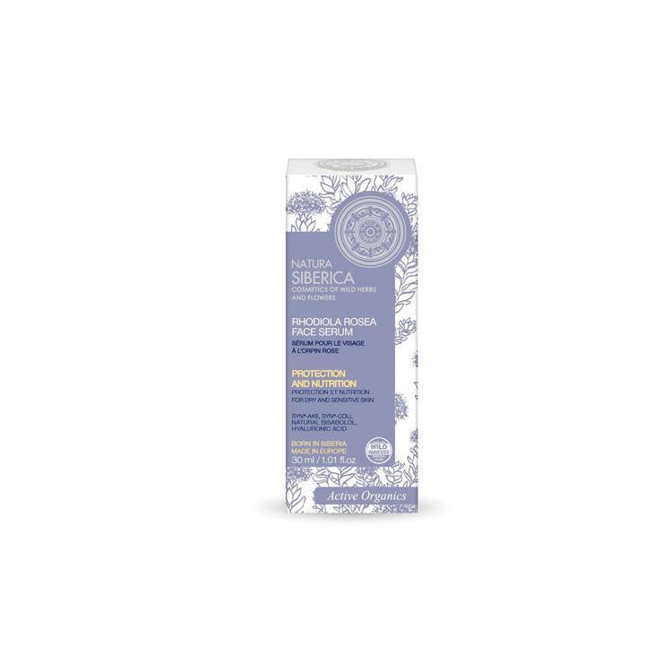 Natura Siberica Organic Rhodiola Rosea Face Serum 30ml - Active Organics-Just Beauty Organics Store
