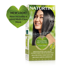 Load image into Gallery viewer, Naturtint Permanent Hair Colour - 1N Ebony Black 170ml-Just Beauty Organics Store