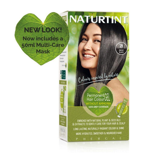 Naturtint Permanent Hair Colour - 1N Ebony Black 170ml-Just Beauty Organics Store