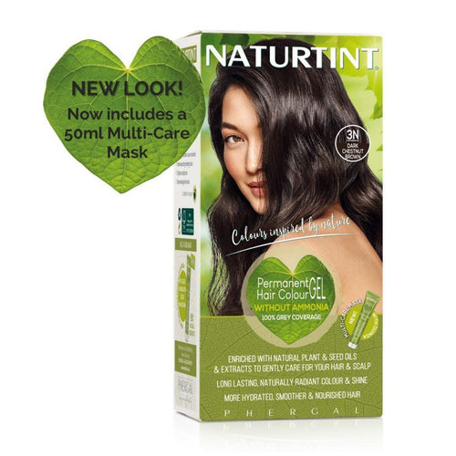 Naturtint Permanent Hair Colour - 3N Dark Chestnut Brown 170ml-Just Beauty Organics Store
