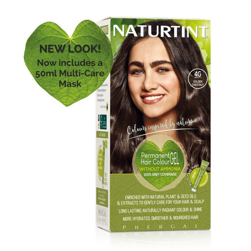 Naturtint Permanent Hair Colour - 4G Golden Chestnut 170ml-Just Beauty Organics Store
