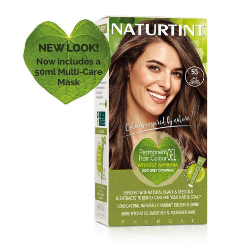 Naturtint Permanent Hair Colour - 5G Light Golden Chestnut 170ml-Just Beauty Organics Store