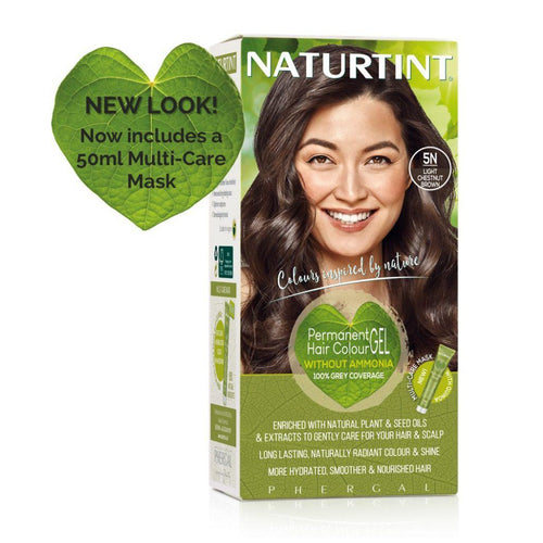 Naturtint Permanent Hair Colour - 5N Light Chestnut Brown 170ml-Just Beauty Organics Store