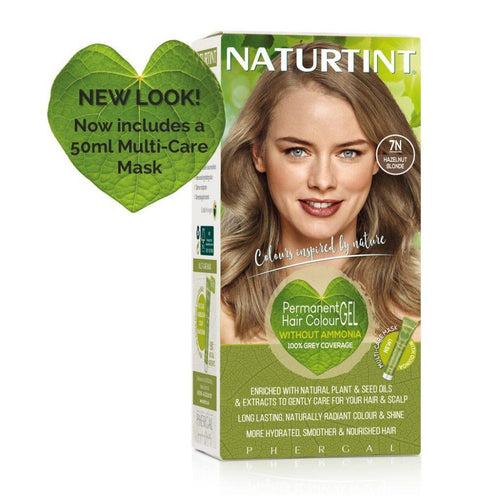 Naturtint Permanent Hair Colour - 7N Hazelnut Blonde 170ml-Just Beauty Organics Store