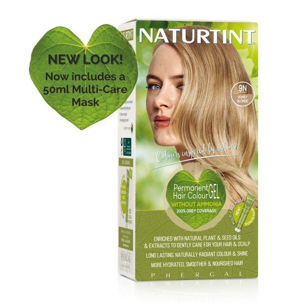 Naturtint Permanent Hair Colour - 9N Honey Blonde 170ml-Just Beauty Organics Store