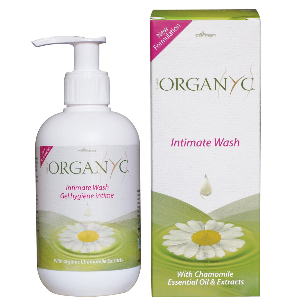 Organyc Organic Intimate Wash 250ml-Just Beauty Organics Store