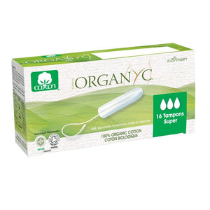 Organyc Organic Tampons 16 pack-Super-Just Beauty Organics Store
