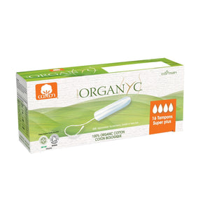 Organyc Organic Tampons 16 pack-Super Plus-Just Beauty Organics Store