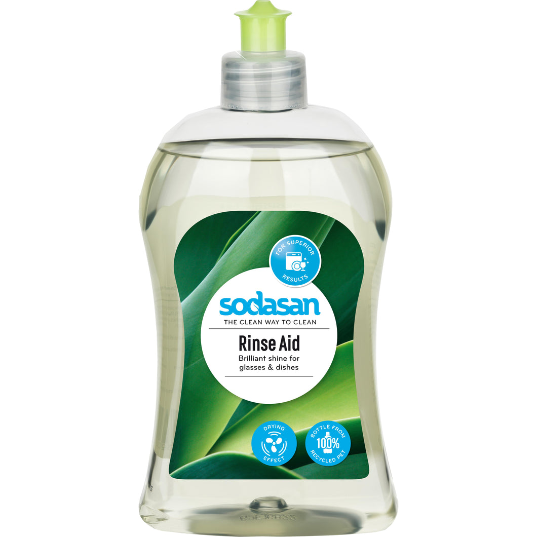Sodasan Clear Rinse Aid 500ml-Just Beauty Organics Store