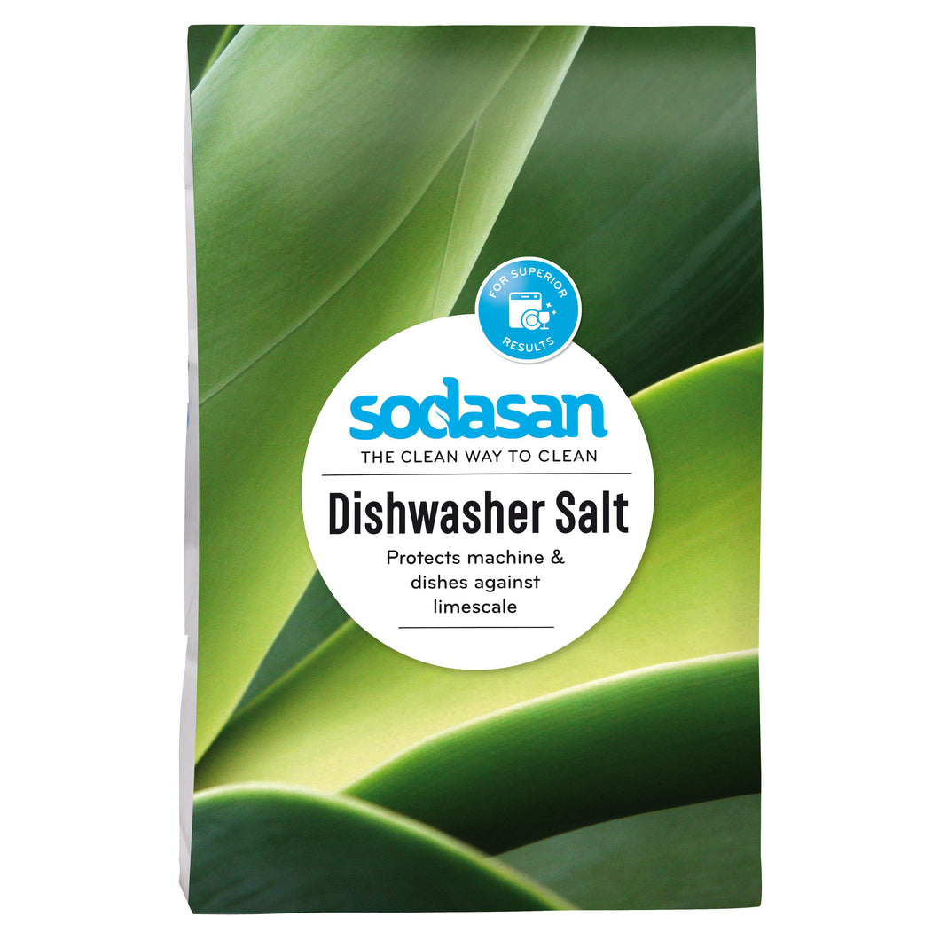 Sodasan Dishwasher Salt 2kg-Just Beauty Organics Store