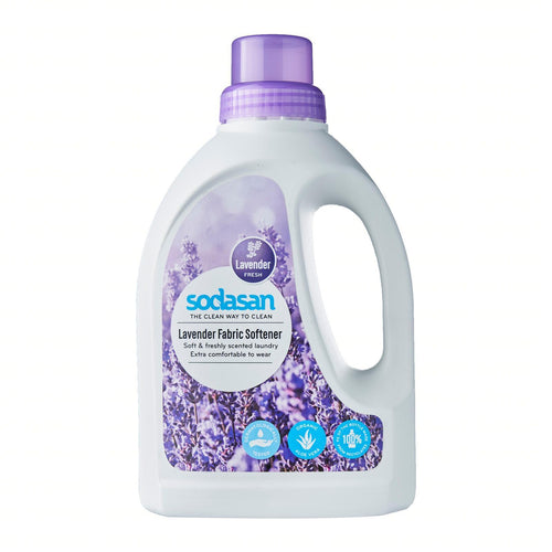 Sodasan Fabric Softener Lavender 750ml-Just Beauty Organics Store