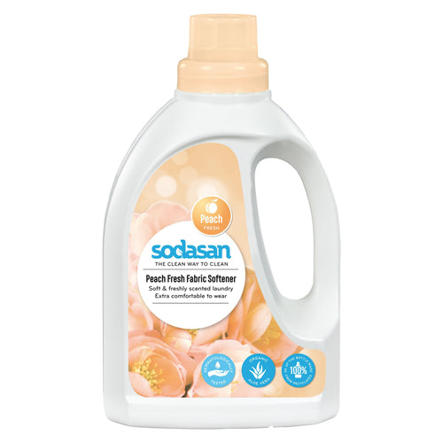 Sodasan Fabric Softener Peach 750ml-Just Beauty Organics Store