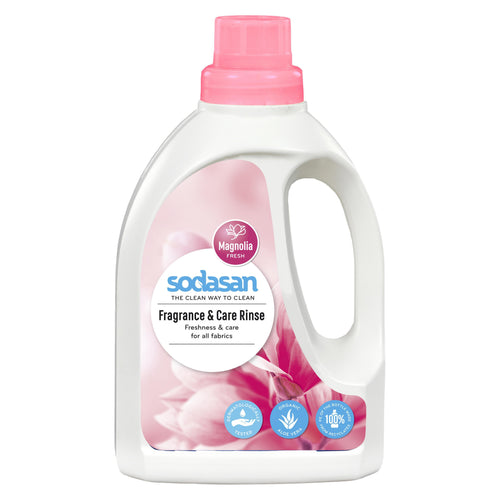 Sodasan Fragrance & Rinse 750ml - with organic aloe vera-Just Beauty Organics Store