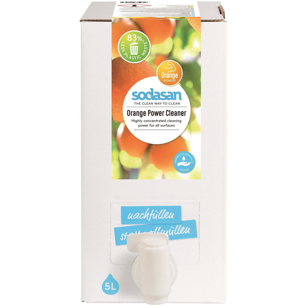 Sodasan Orange Cleaner 5 litre Bag in Box-Just Beauty Organics Store